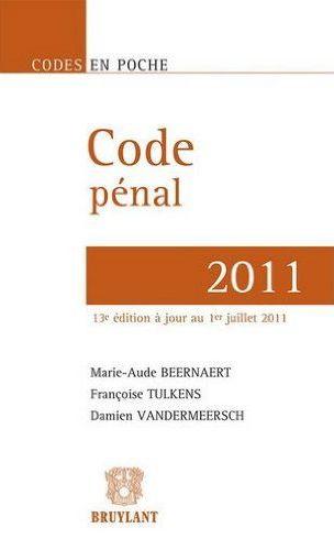 Acheter Code pénal 2011