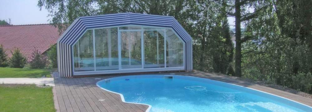 Acheter L'abri de piscine haut