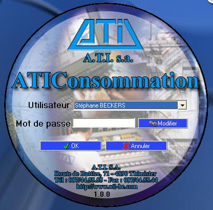 Acheter Fuel tanks control software ATIConsommation