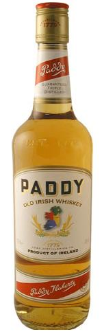 Whisky irlandais Paddy