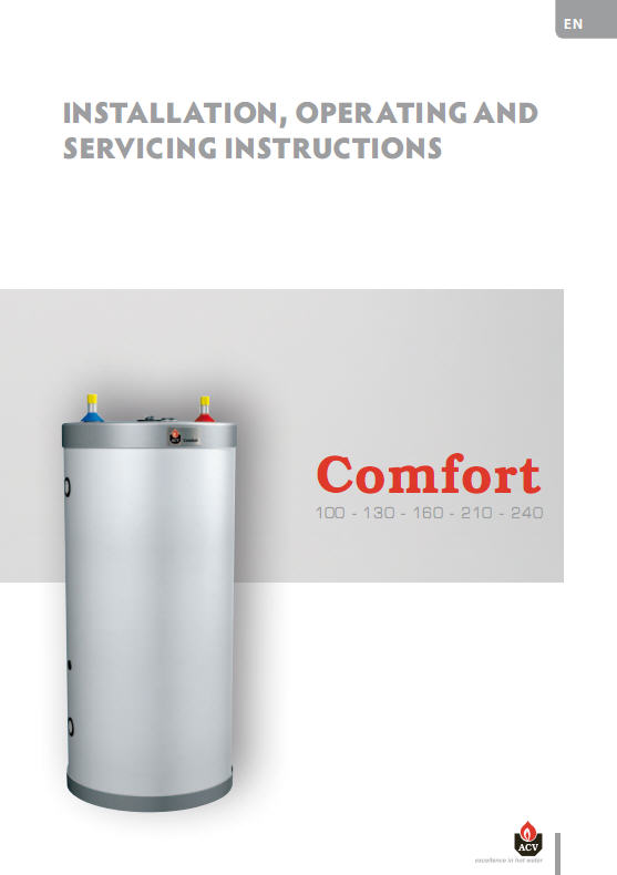 Acheter Hot water Tanks and Boilers > Comfort 100