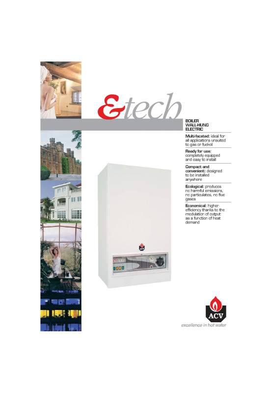 Acheter Hot water Tanks and Boilers > E-tech w 09