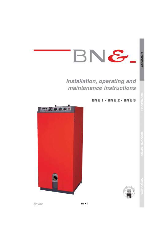 Acheter Hot water Tanks and Boilers > BNE 1