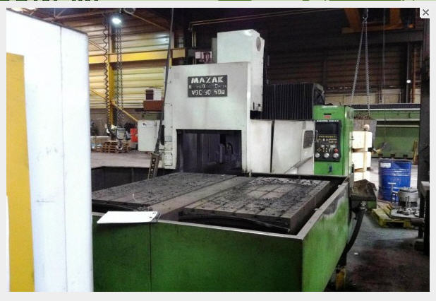 Vertical Machining Centre CNC MAZAK (VQC30/50B)