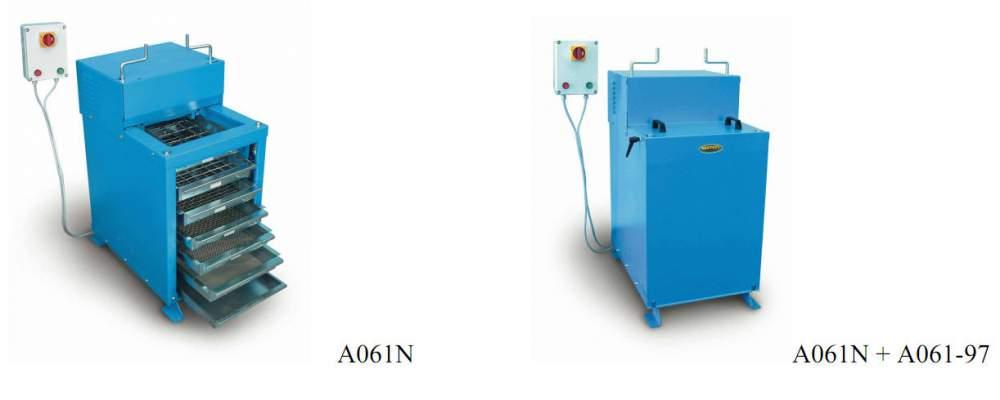 Acheter High capacity sieve shaker for granulats A061N