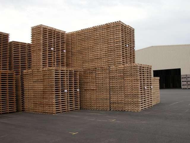 Acheter Palettes en bois des bois calibrés