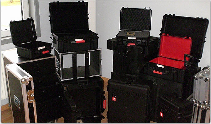 Acheter Flightcases des dimensions differentes