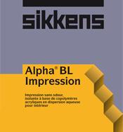 Acheter Peinture d'interieur Alpha BL Impression