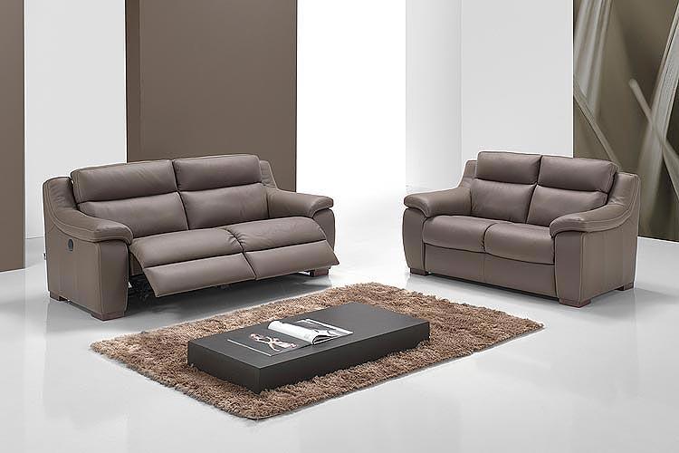 Acheter Salon classique en cuir vachette 2.2 mm massif