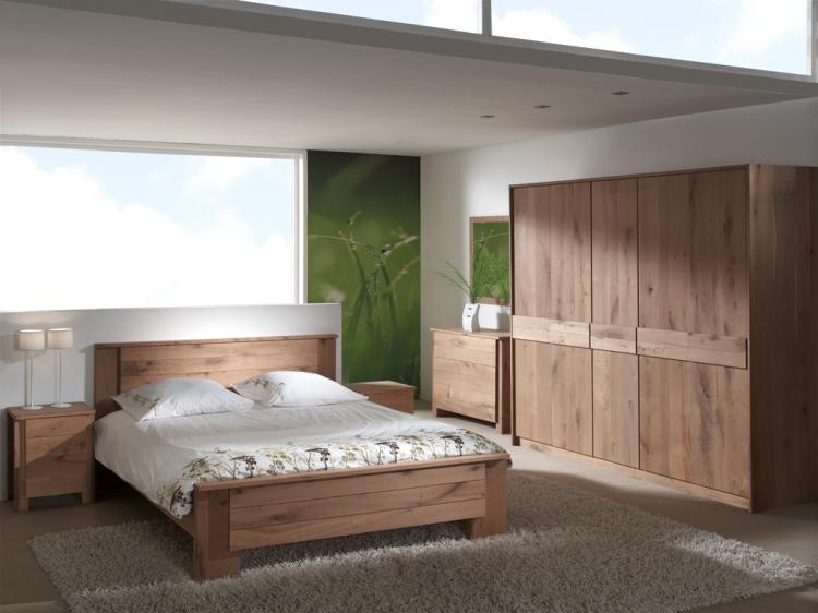 Stunning Chambre A Coucher En Bois Massif Moderne Pictures ...