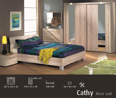 Acheter Chambre à coucher Cathy
