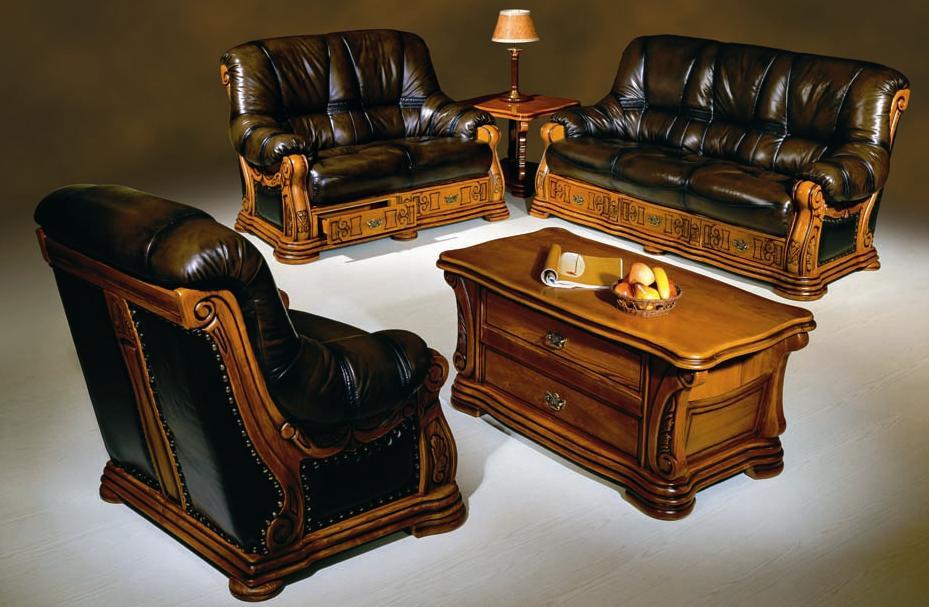 Acheter Salons en cuir Florance