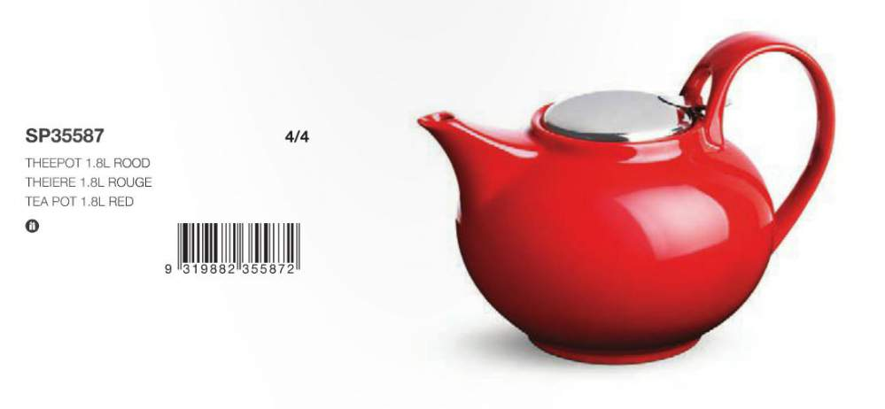 Acheter Theire 1,8 L Rouge