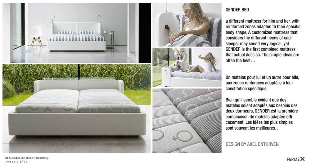 Acheter Lit Gender de Recor Bedding