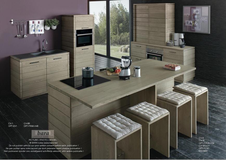 Acheter Meubles de cuisine en bois