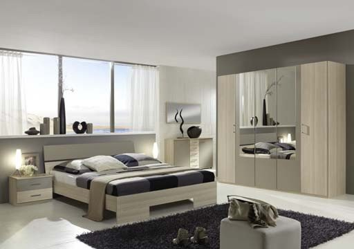 chambre a coucher claudia g - Chambre A Coucher Moderne En Mdf Turque