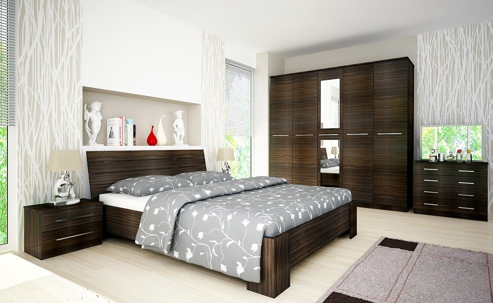 Chambre coucher compl te risa buy chambre coucher for Des chambres a coucher