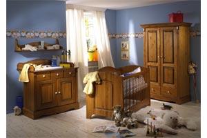 Acheter Meubles de chambre a coucher Bébé - Chambre Bébé Gomab - Référence : GOM-bebe