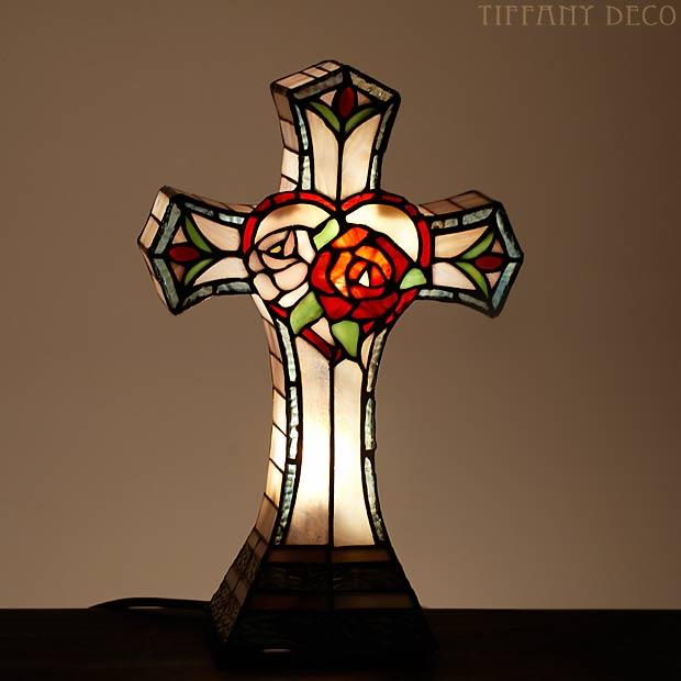 Acheter Lampes tiffany : croix II