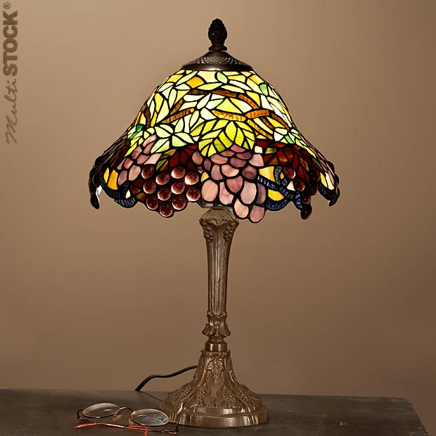 Acheter Lampes tiffany petites: Grappe de raisin