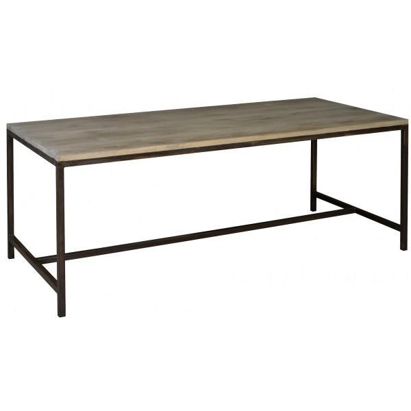 Acheter Table chêne et métal
