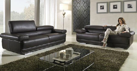 Acheter Meubles de salon en cuir Confort