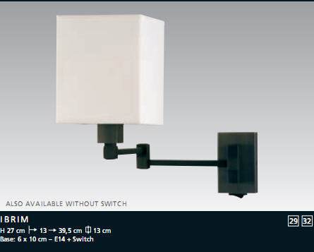 Acheter Lampe Ibrim