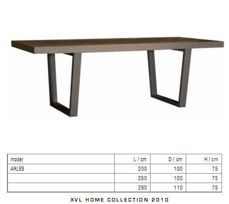 Acheter Table Arles