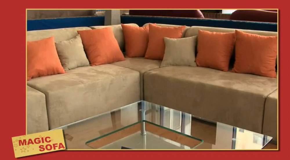 Acheter Meubles de salon d'angle en tissu