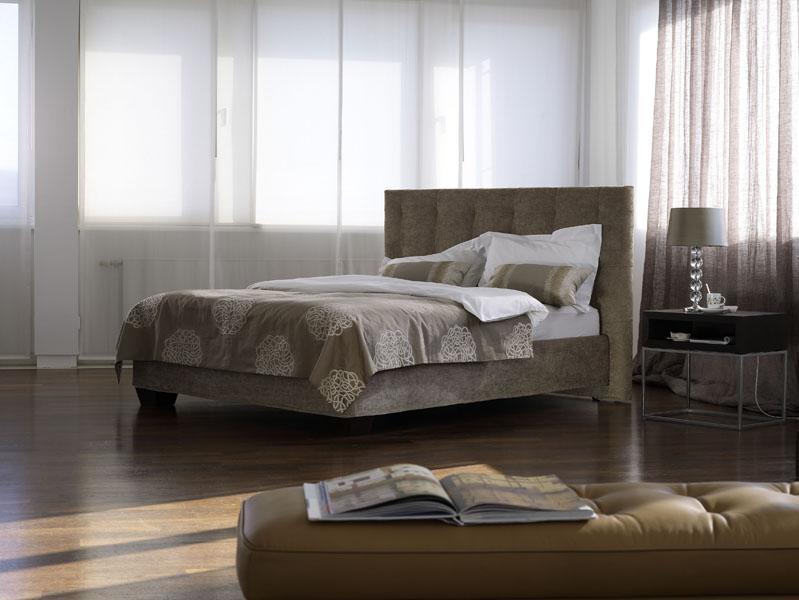 Acheter Lits Schramm revêtus de tissus décoratifs