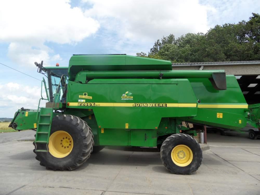 Acheter Harvester JOHN DEERE 2266E HM 4x4