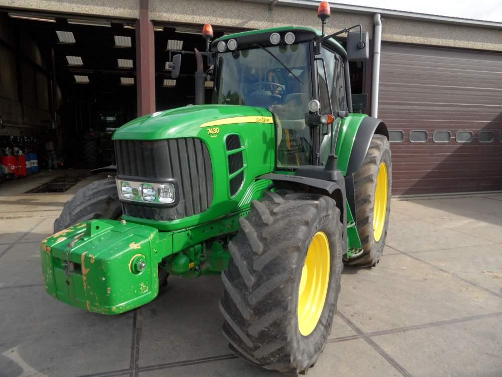 Acheter Tracteur JOHN DEERE 7430TLS AQ éco