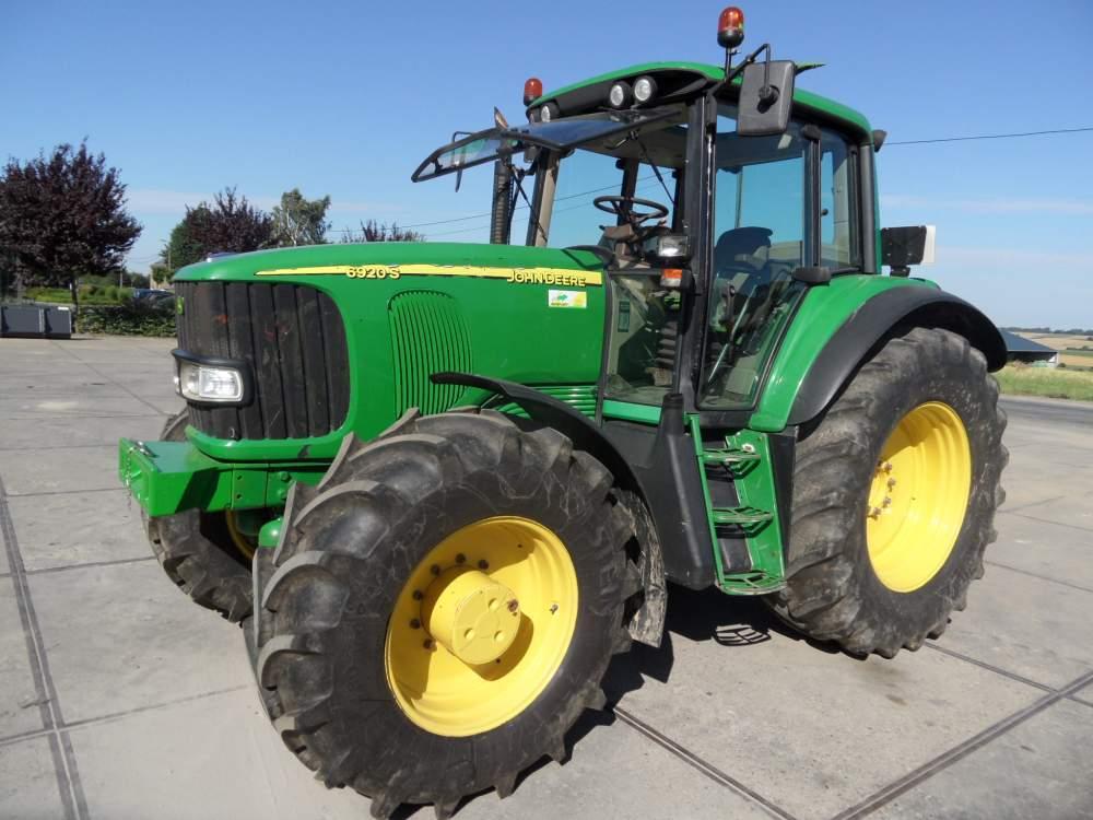 Acheter Tracteur JOHN DEERE 6920 S TLS