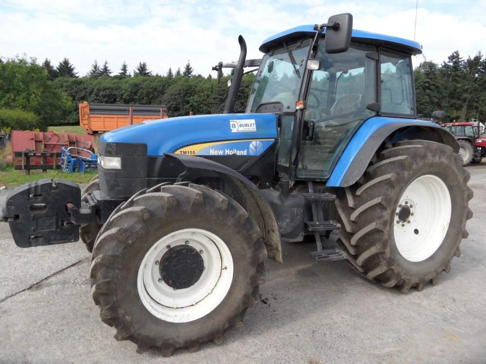 Acheter Tracteur NEW HOLLAND TM 155