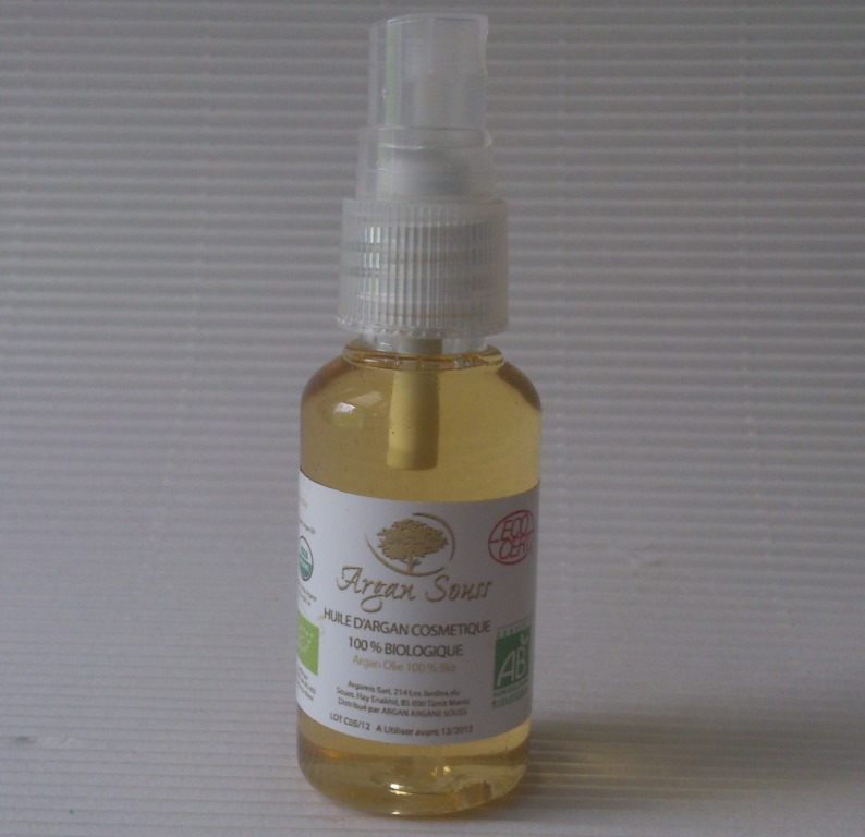 HUILE D' ARGAN BIO EN SPRAY 30 ML