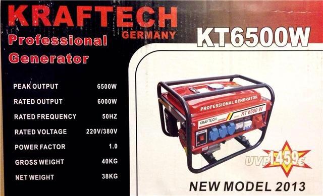 Acheter Gasoline generator KT 8500