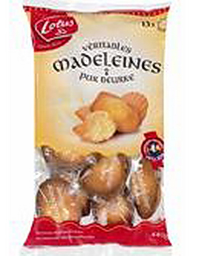Acheter Madeleine Bretonne Lotus