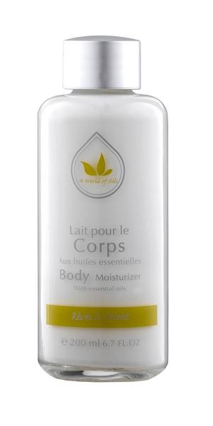 Lait pour le corps A world of oils Rêves d'Orient