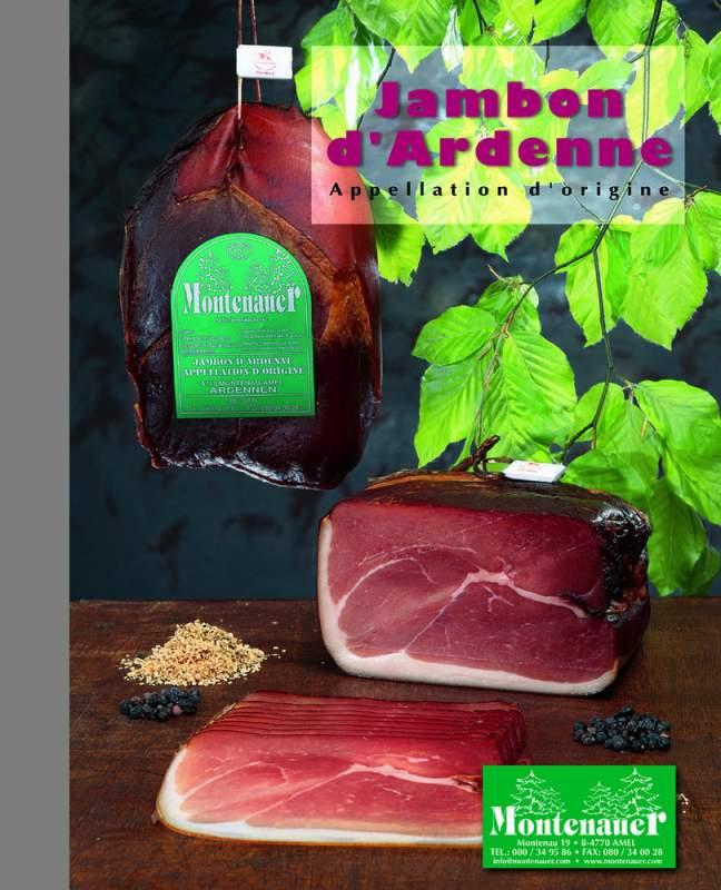 Acheter Jambon d'Ardenne original Montenauer