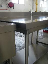 Acheter Les tables murales, les plonges et etageres murales.Bonnet: