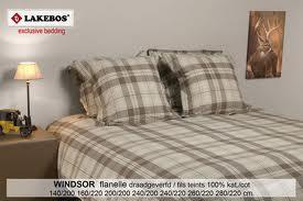 Acheter Linge de lit Flanelle fils teints
