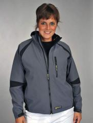 Jacket gris/noir Wolf Line Soft Shell