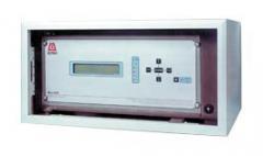 Alarm and measurement central unit