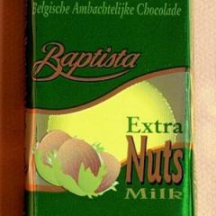 Tablette de chocolat Extra Nuts 100 gr