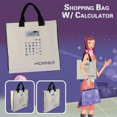 Shopping bag with calculator, ref: HOME0004