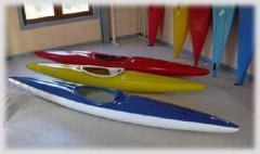 Canoës et kayaks Famenne plastic