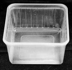 Plastic box for eatables