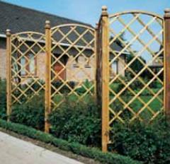 Φράχτες ξύλινοι πλεκτοί