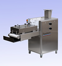 Machine for the rolling out dough Peeters