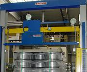 Automatic plastic strapping machines